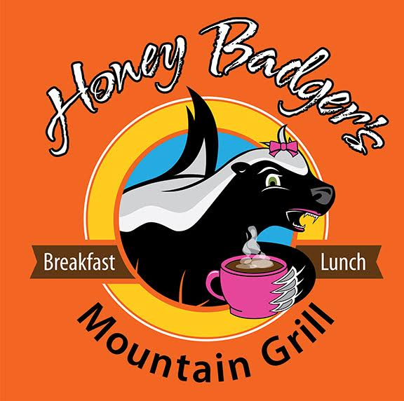 Honey Badger's Mountain Grill Logo